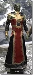 Orc Wise Woman's Vestment Argonian Male Front