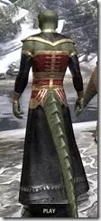 Orc Wise Woman's Vestment Argonian Male Rear