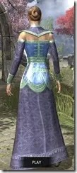 Orc Wise Woman's Vestment Dyed Close Front