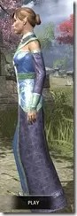 Orc Wise Woman's Vestment Dyed Side
