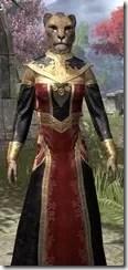 Orc Wise Woman's Vestment Khajiit Female Close Front