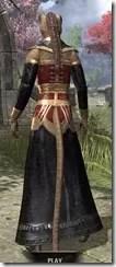 Orc Wise Woman's Vestment Khajiit Female Rear