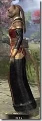 Orc Wise Woman's Vestment Khajiit Female Side