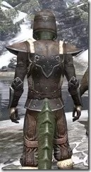 Orcisg Scout Armor - Argonian Male Close Rear