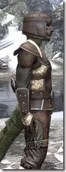 Orcisg Scout Armor - Argonian Male Close Side