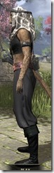 Pirate First Mate's Outfit - Khajiit Female Side