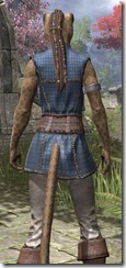 Rawhide-Laced Riften Jerkin Khajiit Female Close Rear