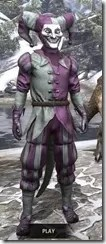 Royal Court Jester - Argonian Male Front
