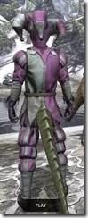 Royal Court Jester - Argonian Male Rear