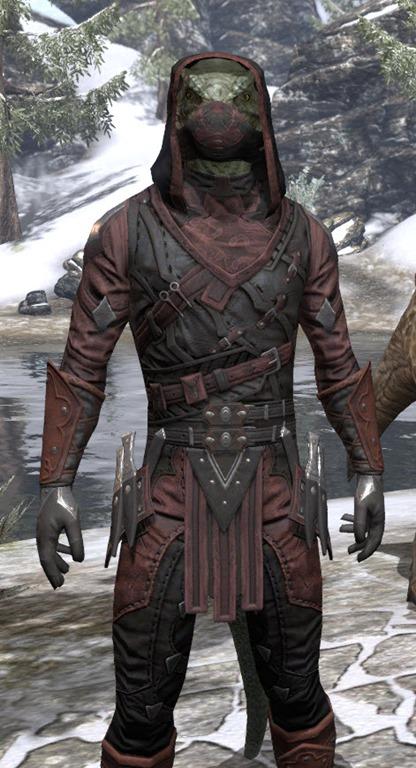 Eso Fashion Shrouded Armor Elder Scrolls Online