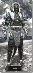 Stahlrim Frostcaster Iron - Argonian Male Front