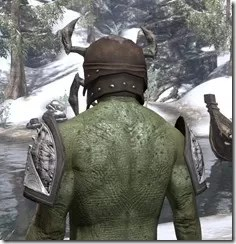 Swarm Mother - Argonian Male Rear