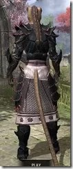 Telvanni Master Wizard - Khajiit Female Rear