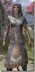 Telvanni Wizard-Lord Robe - Khajiit Female Close Front