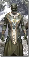 Treethane Ceremonial Dress - Argonian Male Close Front