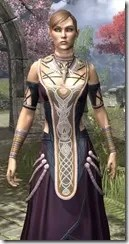 Treethane Ceremonial Dress Dyed Close Front