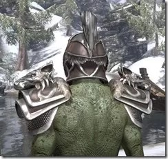 Vykosa - Argonian Male Rear
