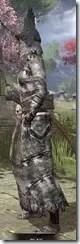 Winterborn Shaman's Costume - Khajiit Female Side