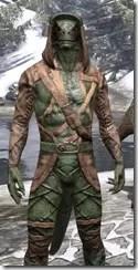 Wood Elf Vanguard - Argonian Male Close Front