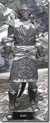 Ashlander Iron - Argonian Male Front