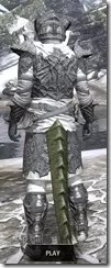 Ashlander Iron - Argonian Male Rear
