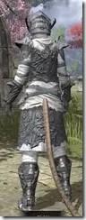 Ashlander Iron - Khajiit Female Rear