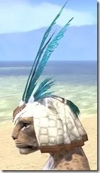 Bonding Rite Headdress Khajiit Female Side