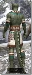 Bonding Rite Vestment Argonian Male Rear