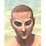 Bright-Throat Chalk Face Tattoo
