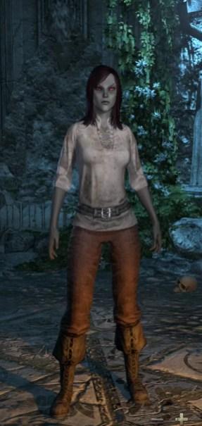 Dark Elf Female Short