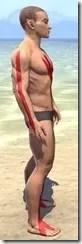 Dead-Water Blood Body Tattoos Male Right