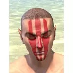 Dead-Water Blood Face Tattoos