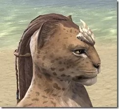 Dead-Water Tooth-and-Tusk Tiara Khajiit Female Right