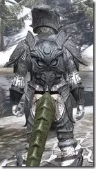 Hlaalu Iron - Argonian Male Close Rear