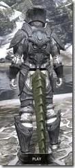 Hlaalu Iron - Argonian Male Rear