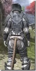 Hlaalu Iron - Khajiit Female Close Rear
