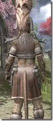 Mazzatun Iron - Khajiit Female Close Rear