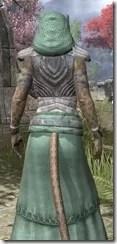 Pyandonean Homespun - Khajiit Female Robe Close Rear