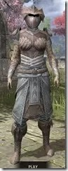 Pyandonean Rawhide - Khajiit Female Front