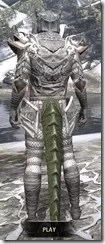 Scalecaller Iron - Argonian Male Rear