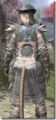 Telvanni Iron - Khajiit Female Close Rear