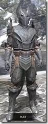 Aldmeri Dominion Iron - Argonian Male Front