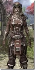 Argonian Steel - Khajiit Female Close Front
