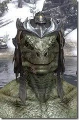 Ayleid Royal Crown - Argonian Male Front