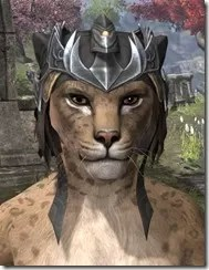 Ayleid Royal Crown - Khajiit Female Front