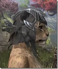 Ayleid Royal Crown - Khajiit Female Right