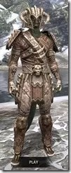 Barbaric Iron - Argonian Male Front