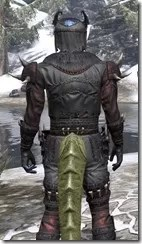 Coldsnap Heavy - Argonian Male Close Rear