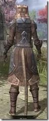 Dark Brotherhood Iron - Khajiit Female Rear