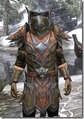 Dark Elf Dwarven - Argonian Male Close Front